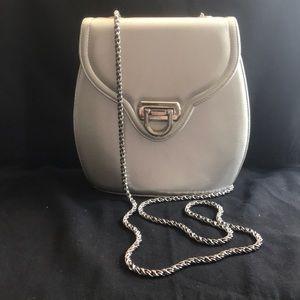 Handbags - Silver Cross Body Bag